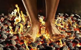 Brandende voeten