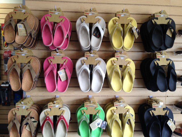 Spenco slippers met goed voetbed