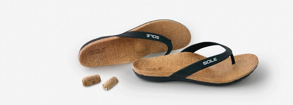 SOLE slippers met goed voetbed