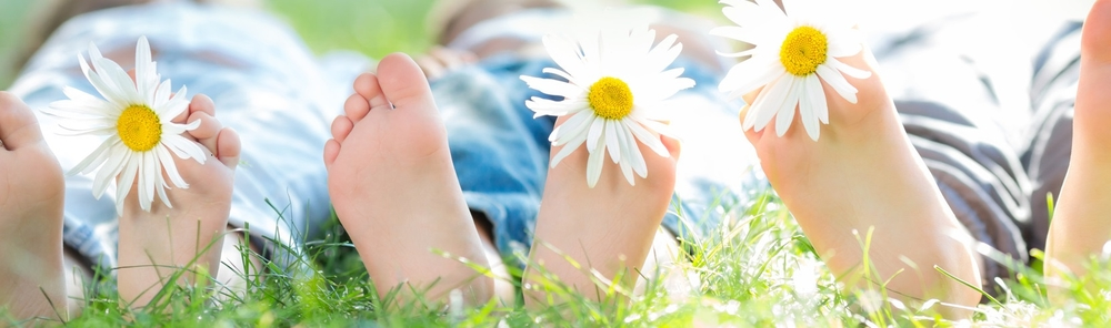 Heerlijke frisse voeten