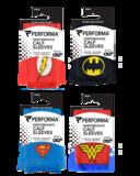 DC Comic calf sleeves verpakkingen