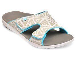 Dames slipper Tribal Slide Marshmallow (met aanpasbare bovenkant)