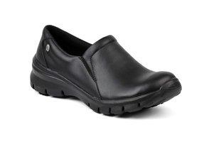 Suecos veterloze schoen NOVA Zwart