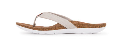 Sole dames slipper Malibu Bone