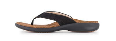 Sole heren slipper Monterey zwart