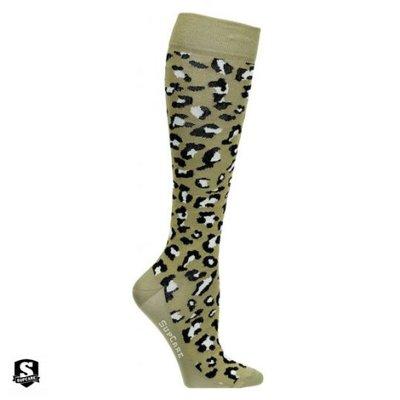 Supcare steunkousen green Leopard