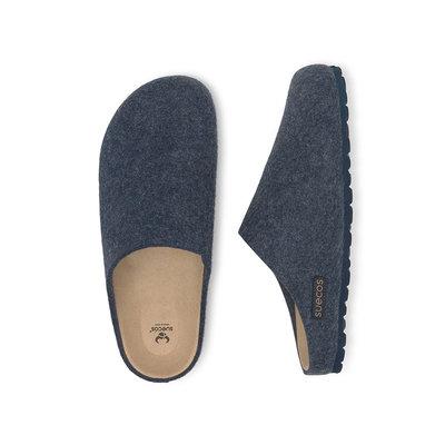 Suecos HEM dames pantoffels Navy