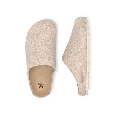 Suecos HEM dames pantoffels Beige