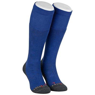 Best4feet Ski Sokken met zilver Royal Blue