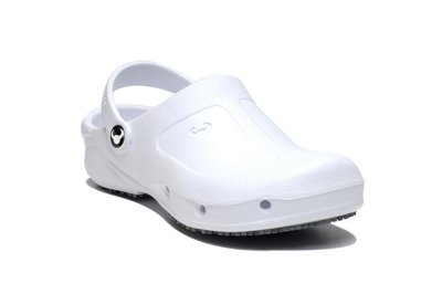 Suecos clogs Thor (wit)