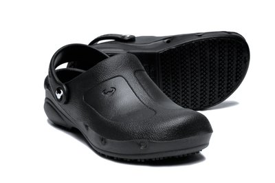 Suecos clogs Thor Plus (zwart)