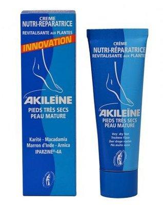 Akileïne Nutri crème tegen droge voeten