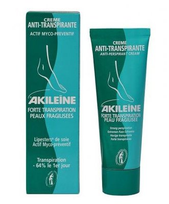 Akileïne Anti - transpiratie crème