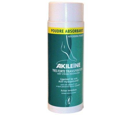 Akileïne absorberend voetpoeder