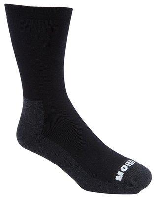 Medi Socks met Mohair en bamboe Zwart