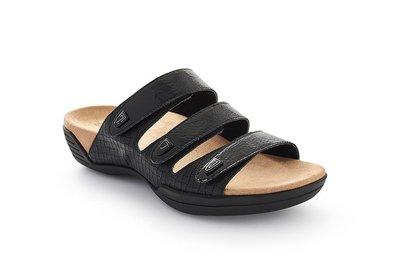Suecos sandalen NILSA zwart