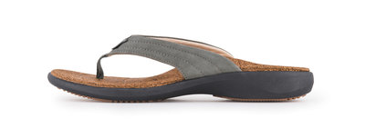 Sole heren slipper Monterey grijs