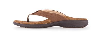 Sole heren slipper Monterey bruin