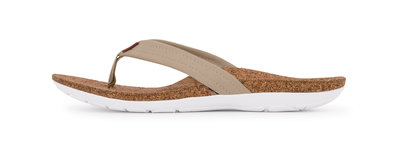 Sole dames slippers Malibu Light Olive