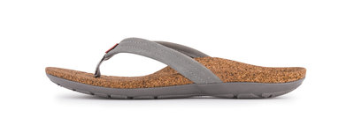 Sole dames slipper Malibu Grey