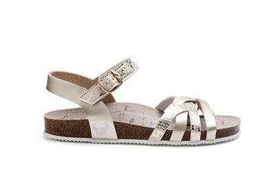 Suecos sandalen Daisy Plata