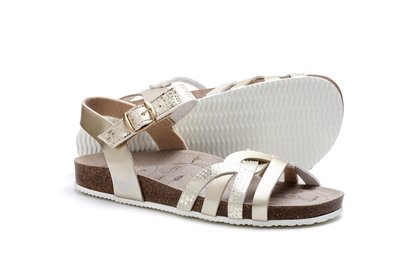 Suecos sandalen Daisy Oro