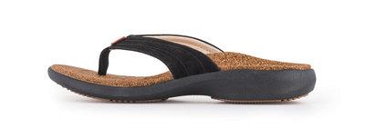 Sole dames slipper Monterey Zwart