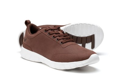 Suecos Velvety Bruine sneakers voor werk