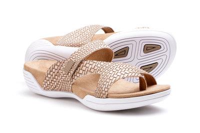 Suecos sandalen Assi bamboe