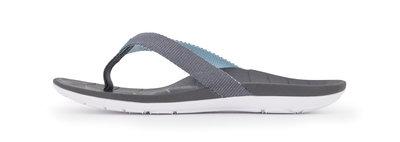 Sole dames slipper Balboa grijs / lichtblauw